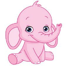 225x225 Baby Elephant Clipart
