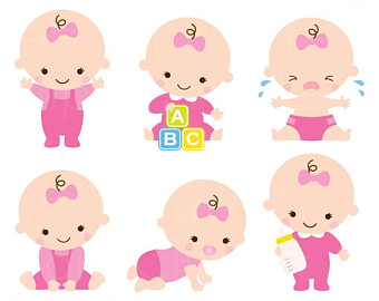 cute baby girl clipart at getdrawings com free for personal use rh getdrawings com baby girl clipart black and white baby girl clipart png