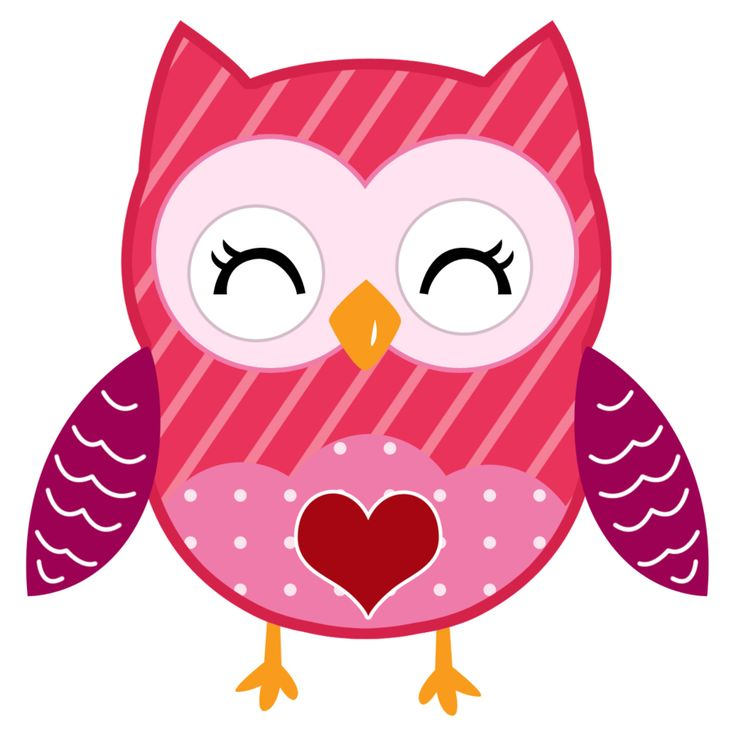 Cute Baby Owl Clipart