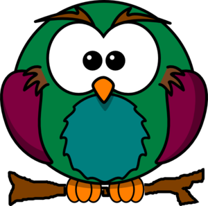 300x297 Cute Baby Owl Clip Art Clipart Panda