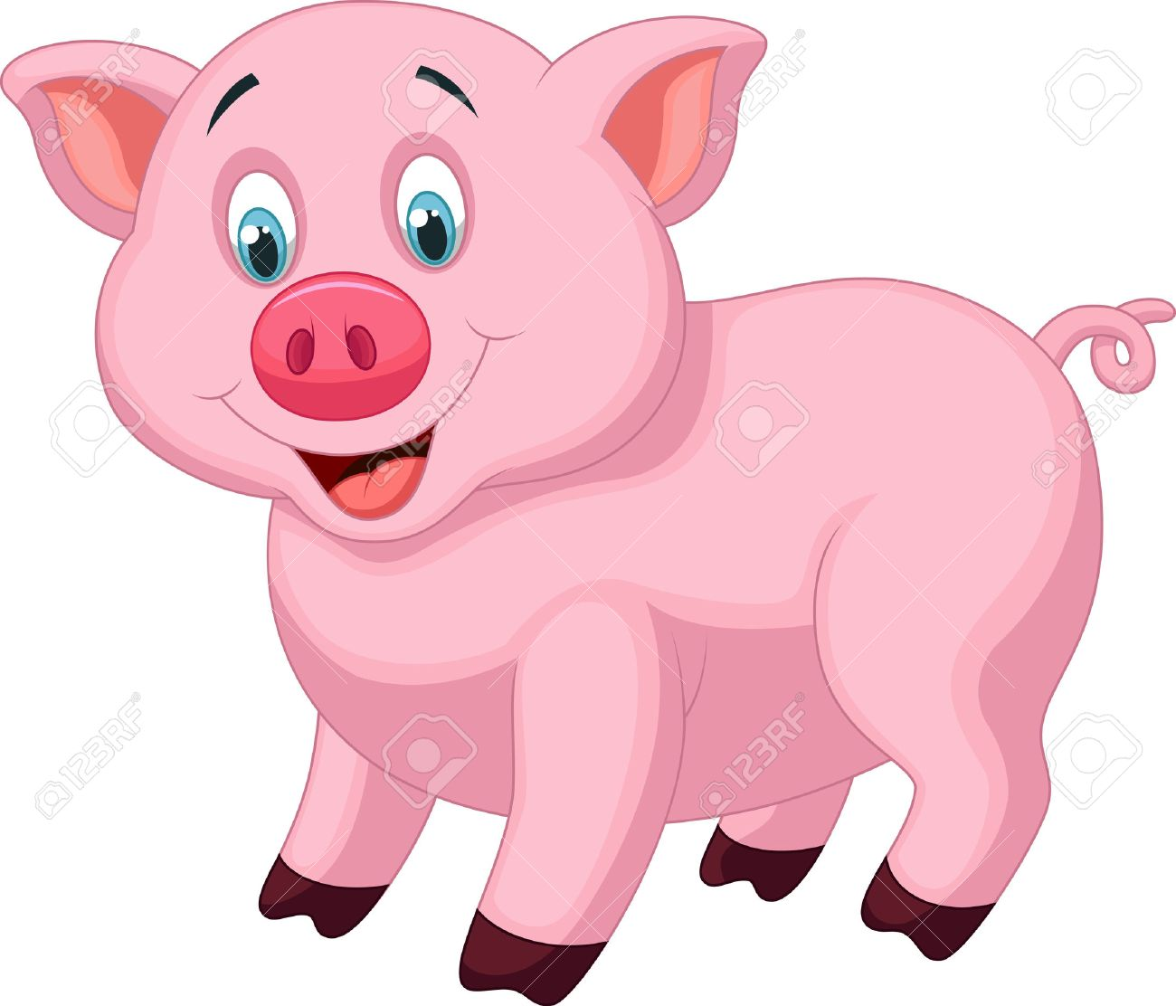 1300x1112 Pig Cartoon Image Best Of Cute Baby Royalty Free Cliparts Vectors