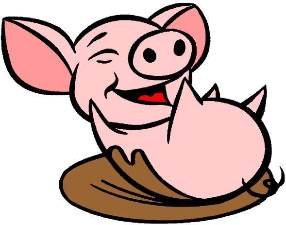 589x463 Pig Clipart Free