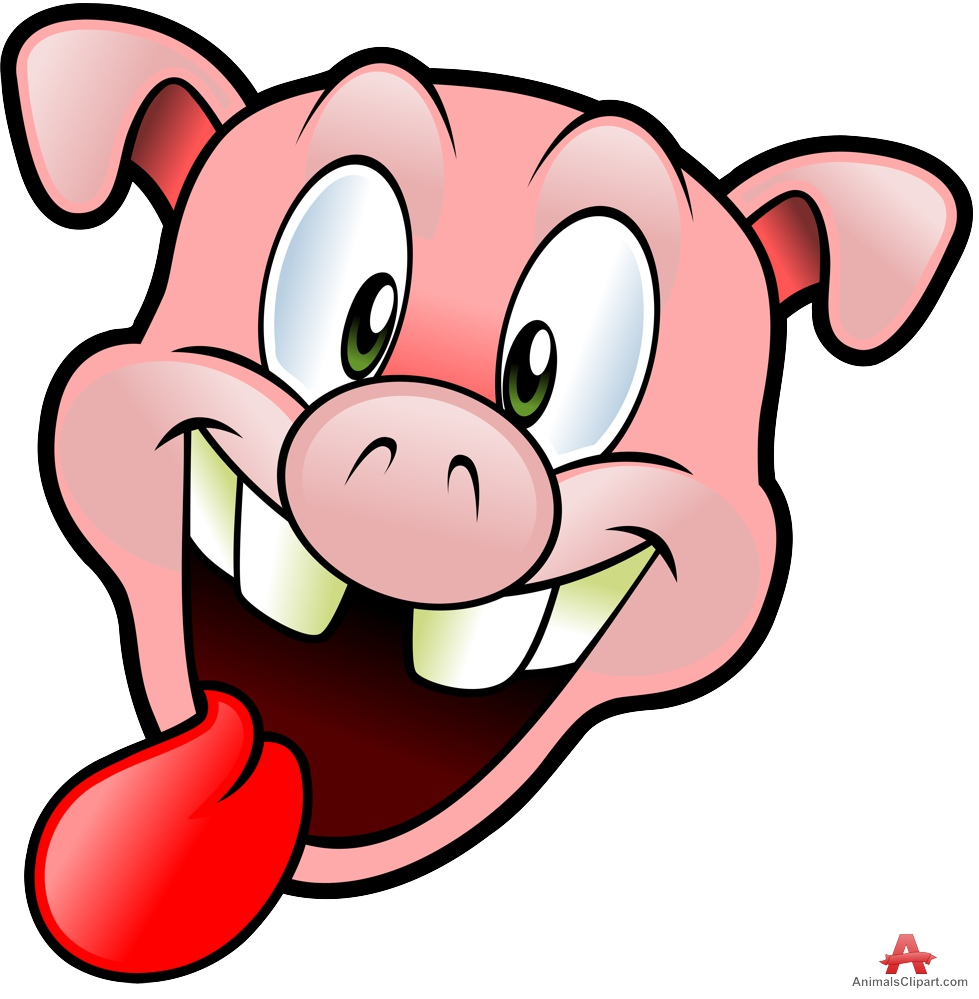 979x999 Pig Clipart With Tongue Out Free Clipart Design Download