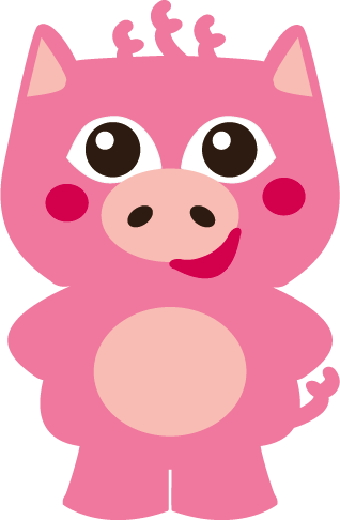 340x520 Piggy Clipart