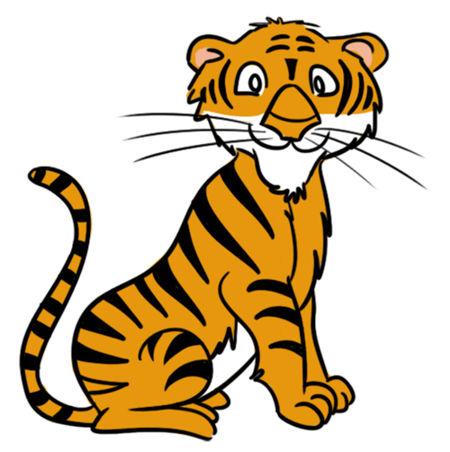 450x452 Cute Tiger Clipart Free