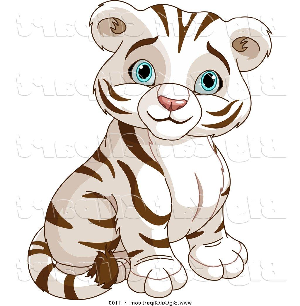1024x1044 Tiger clipart cute