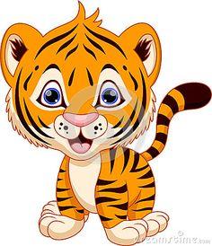 cute baby tiger clipart at getdrawings com free for personal use rh getdrawings com cute baby tiger clip art Cute Tiger Clip Art Black and White