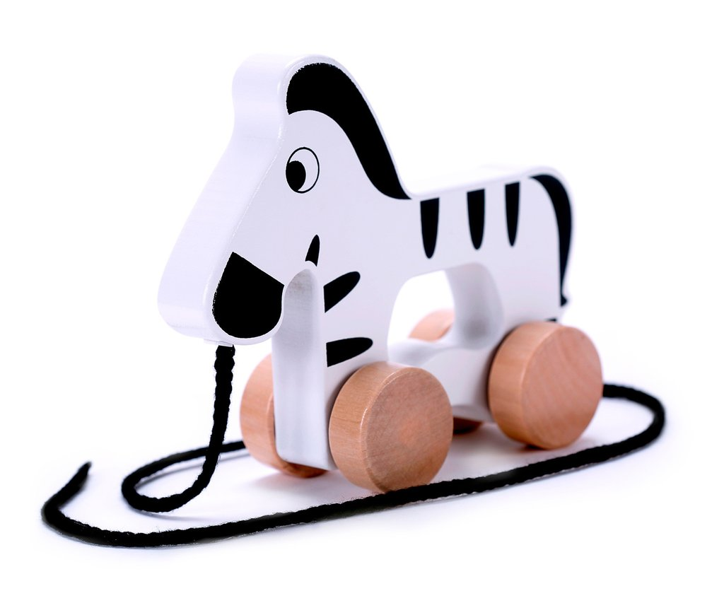 1024x853 Adorable Zebra Wooden Push Amp Pull Along Toy For Baby Amp Toddler