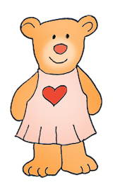 160x268 Cute Teddy Bear Clipart