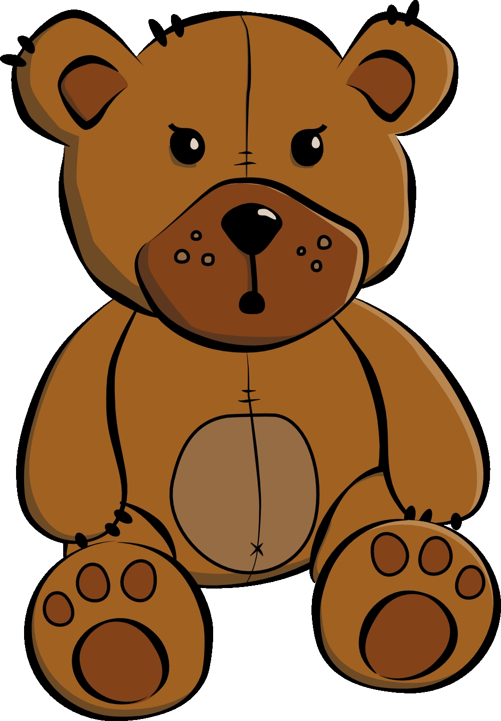 999x1437 Fresh Teddy Bear Clipart Collection