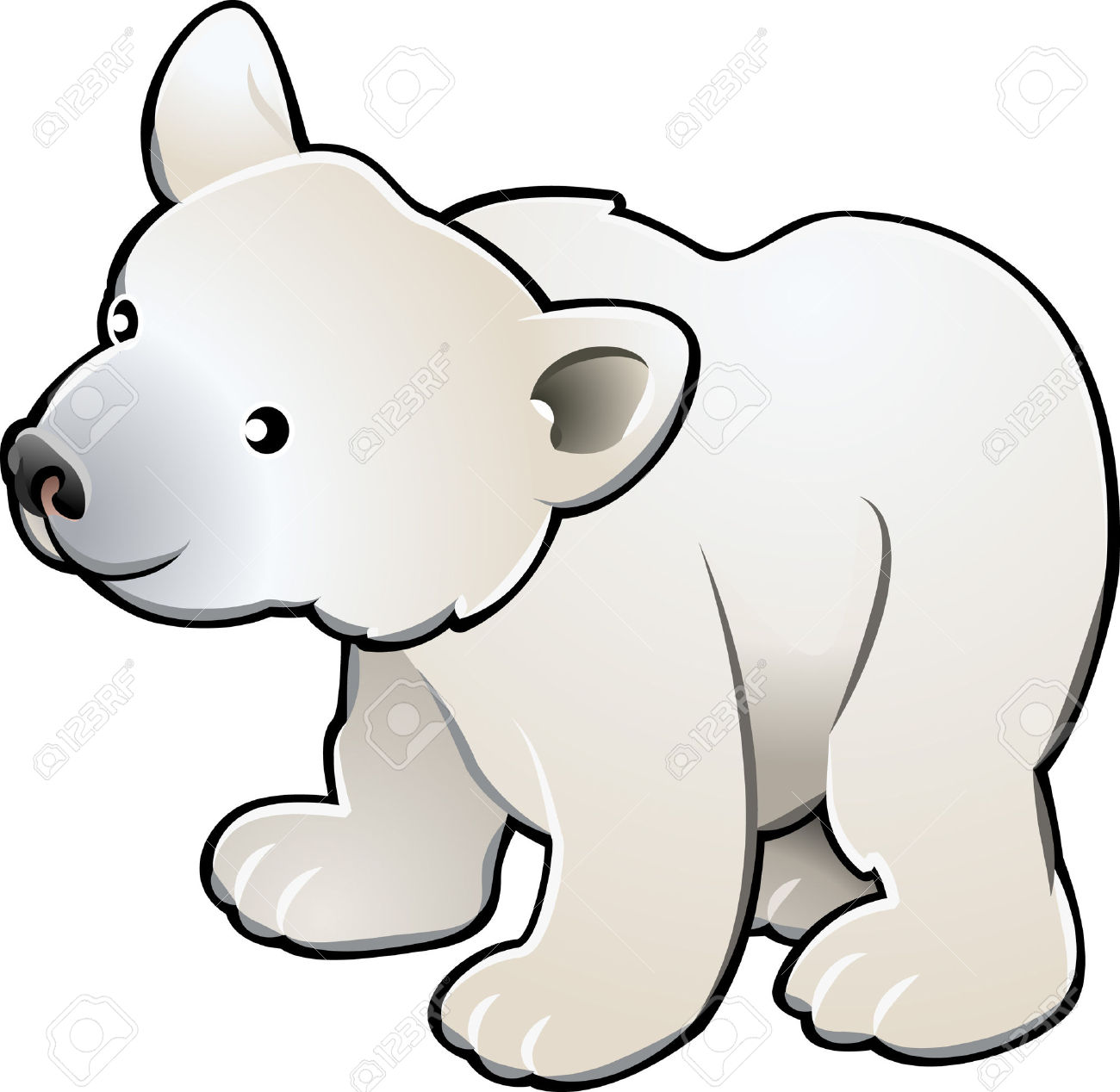 1300x1268 Polar Bear Clipart Cute Polar Bear Clipart 6