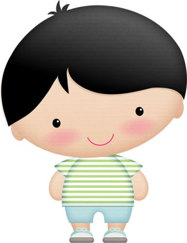 Cute Boy Clipart