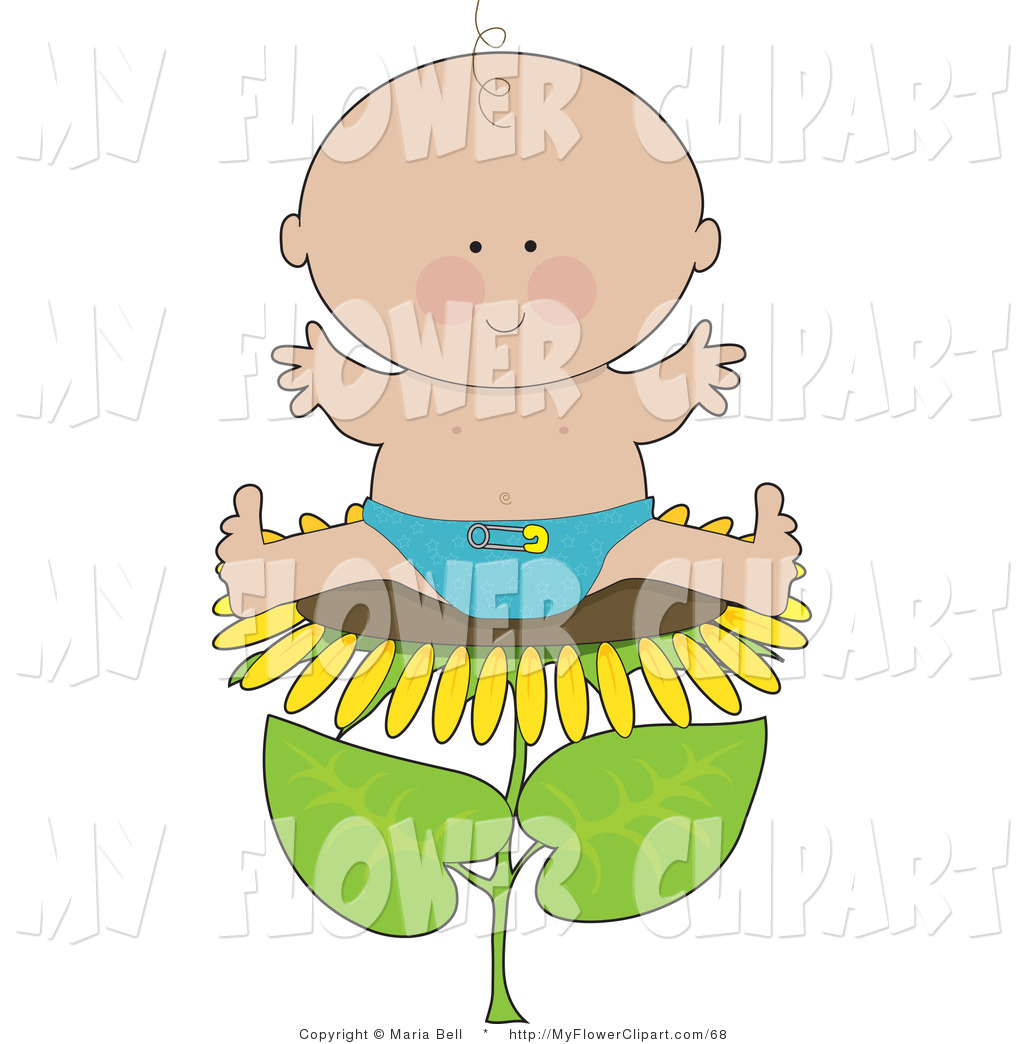 1024x1044 Clip Art Of A Cute Little Caucasian Baby Boy In A Blue Cloth