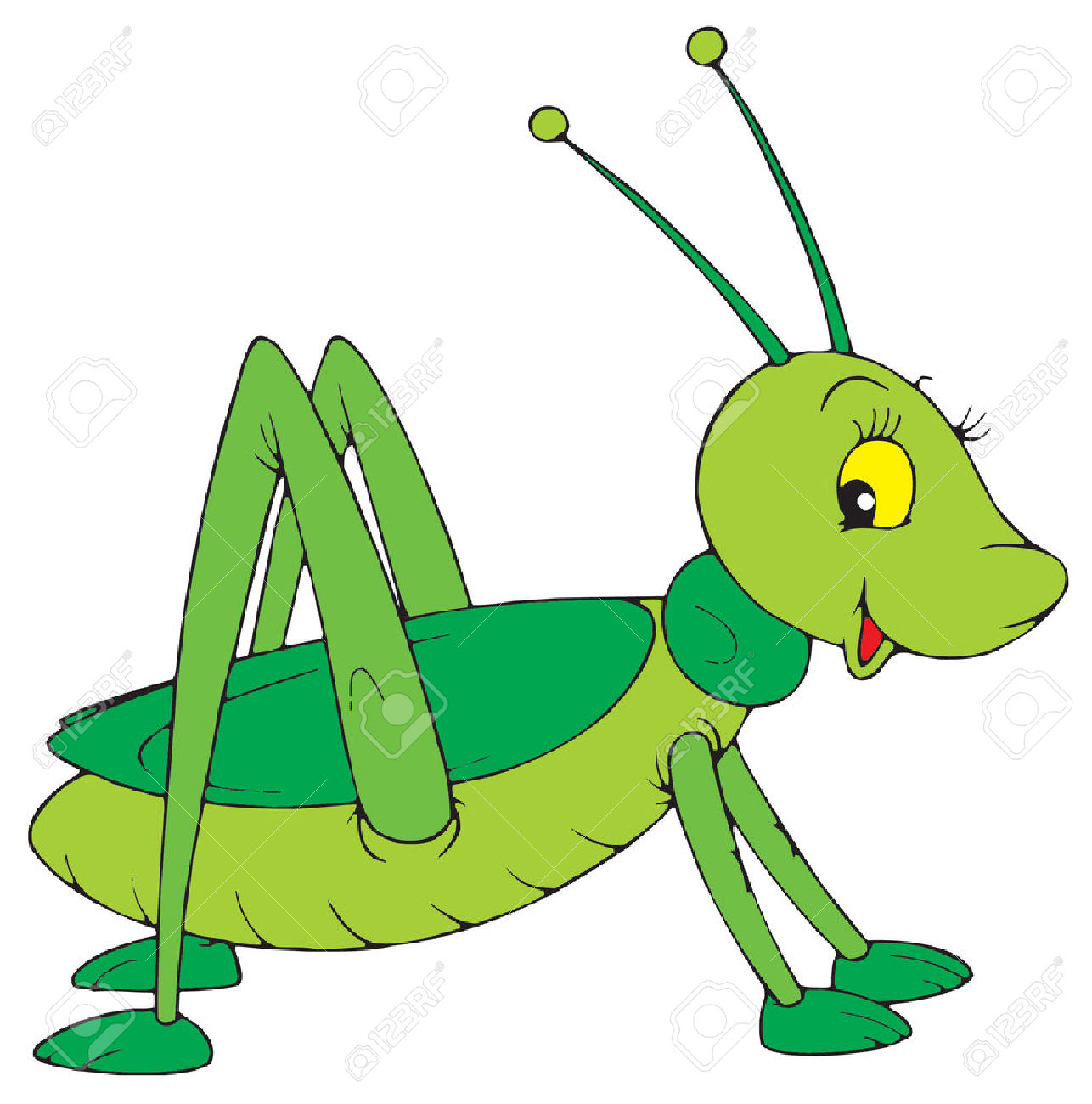 1286x1300 Cartoon Cricket Insect Clipart