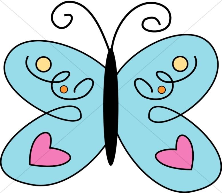 776x676 Cute Clipart Butterfly
