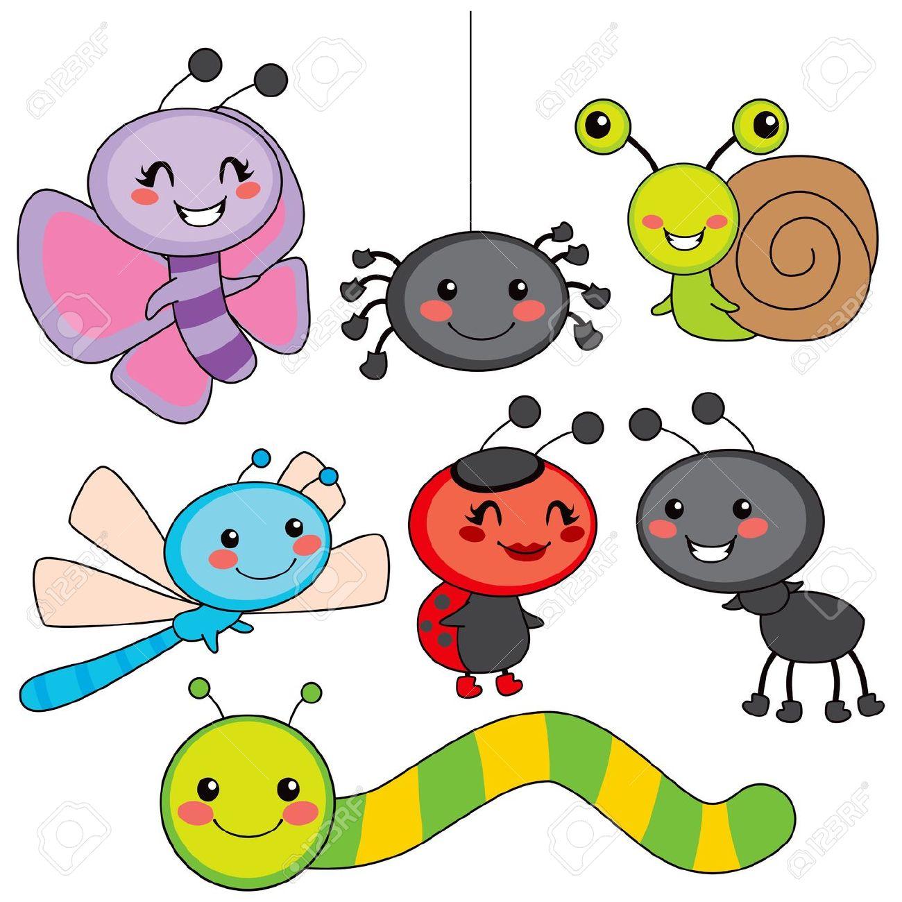 1300x1300 Free Cute Bug Clipart