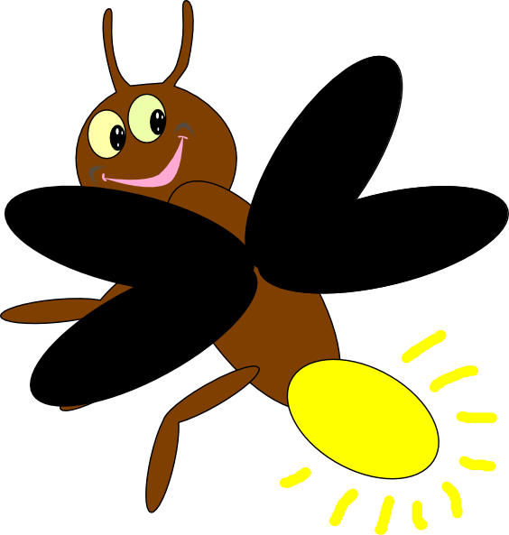 564x593 Collection Of Cute Lightning Bug Clipart High Quality, Free