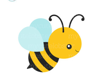 340x270 Cool Honey Bee Clipart Etsy Single Clip Art Of A Cute Bumblebee