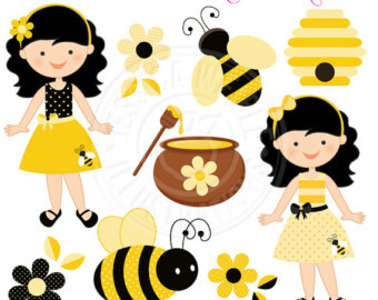 340x270 Bees Clipart
