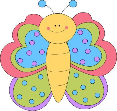 410x390 Cute Butterfly Graphics Butterfly Clip Art