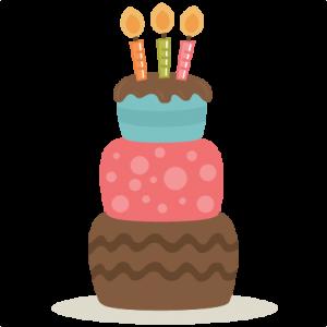 Cute Cake Clipart