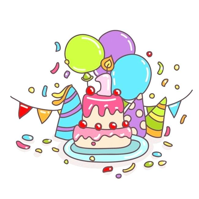 650x650 Cool Free Birthday Cake Clip Art