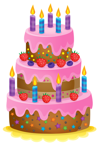 410x600 Cute Cake Png Clipart Image Clip Art Cakes, Cupcakes,pies