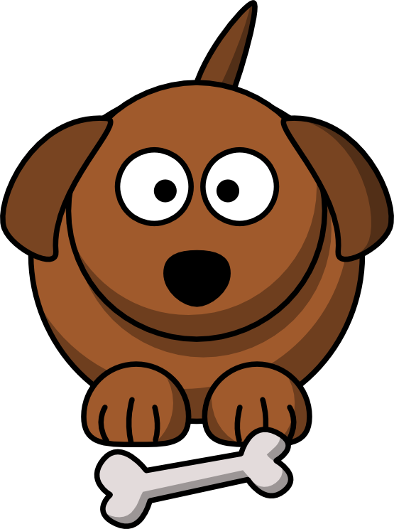 555x744 Clip Art Cartoon Dog Animal Redonkulous