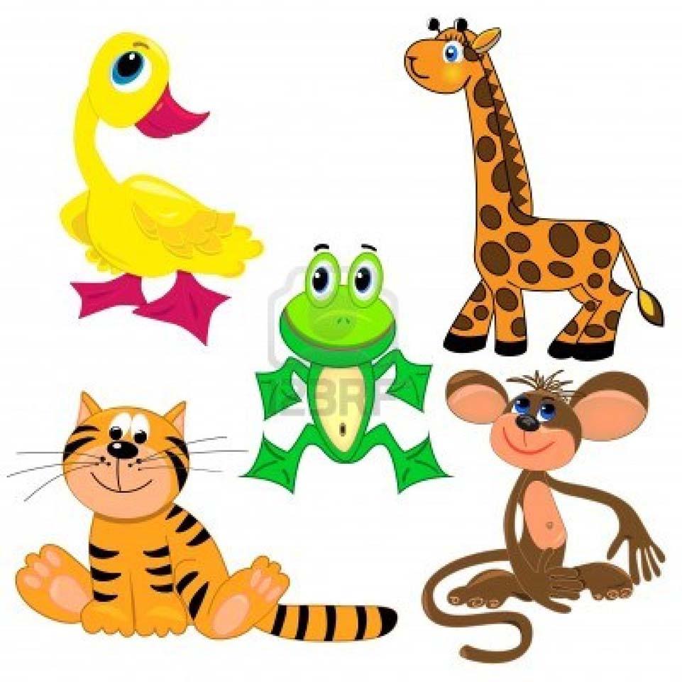961x960 Sensational Ideas Zoo Animal Clipart Animals Circle Lables Safari