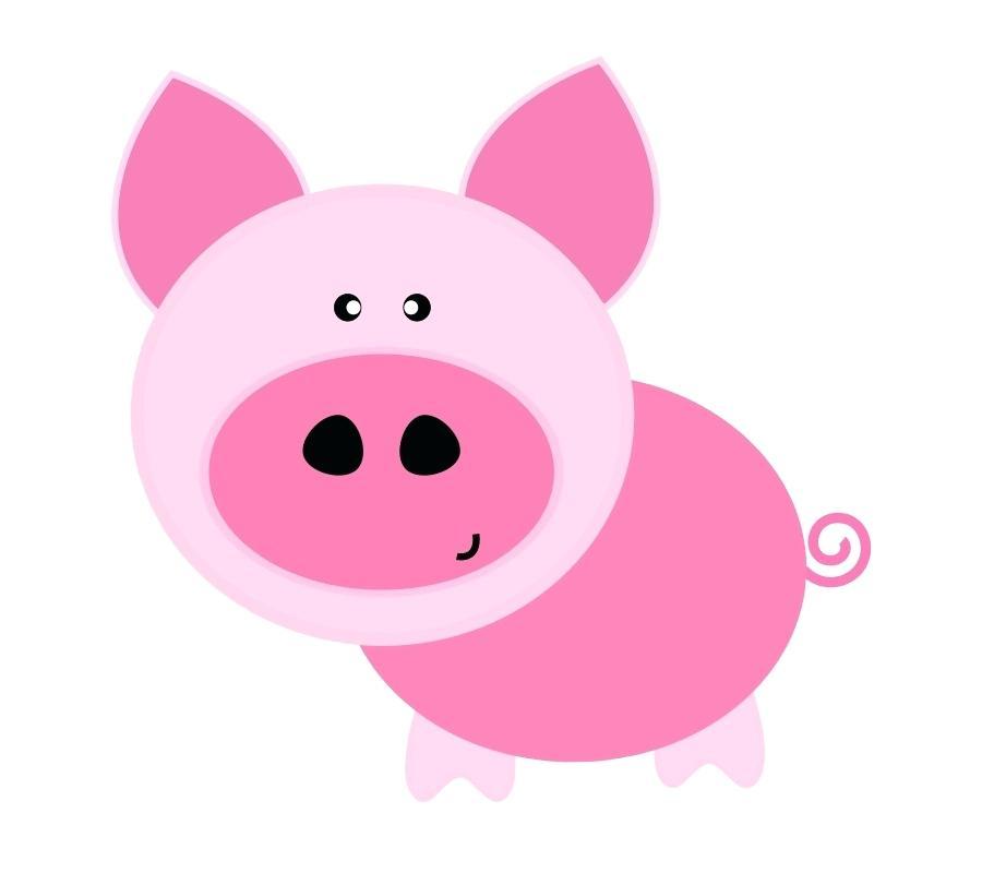 900x800 Cute Pig Clip Art Cute Pig Character In Love Funny Cartoon