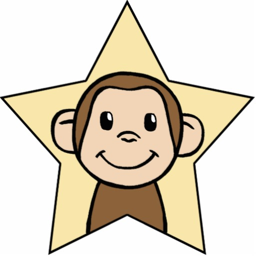 512x512 Image Of Cute Monkey Clipart