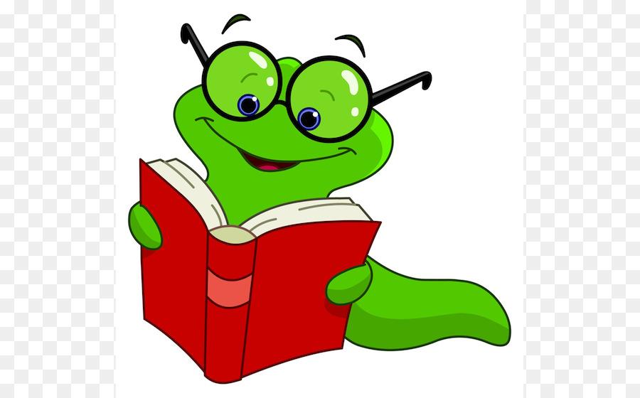 900x560 Bookworm Royalty Free Cartoon Clip Art