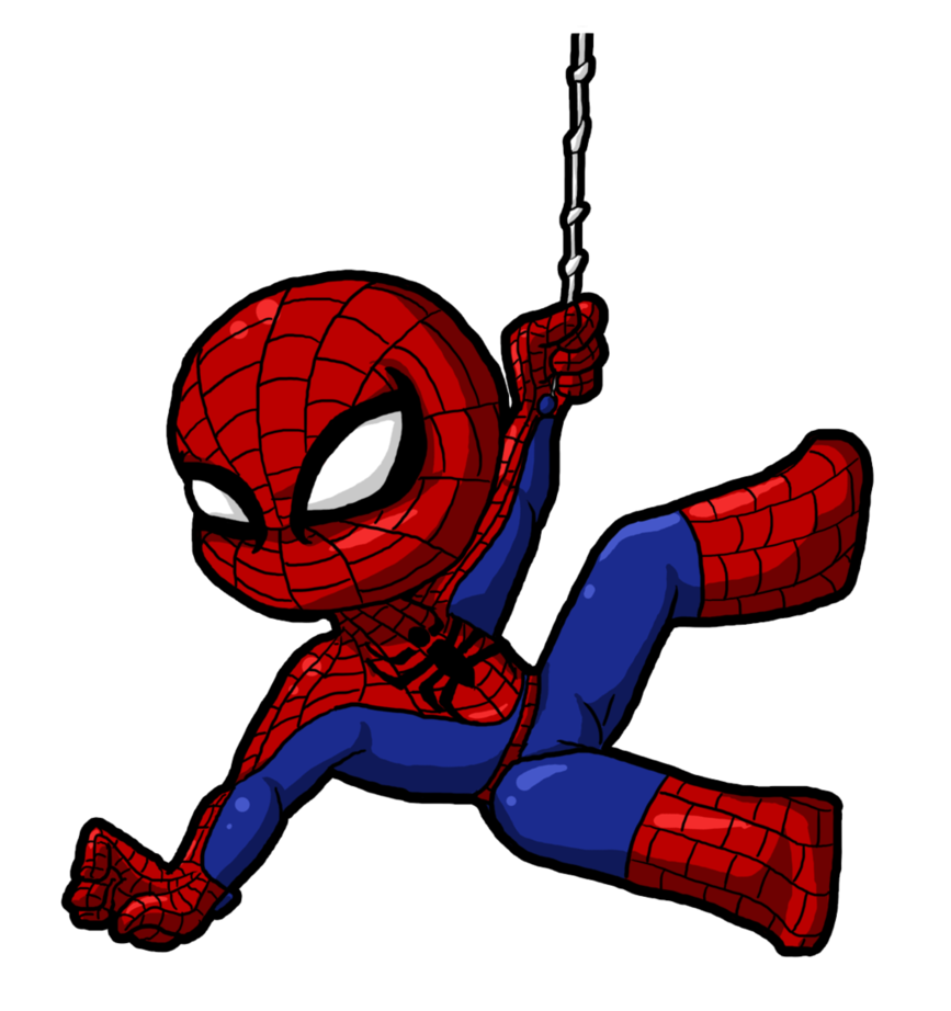 867x922 Spiderman Clipart Cute Cartoon For Kids Png