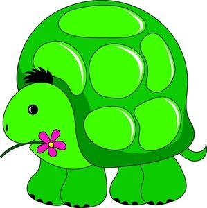 299x300 Turtle Clipart Image