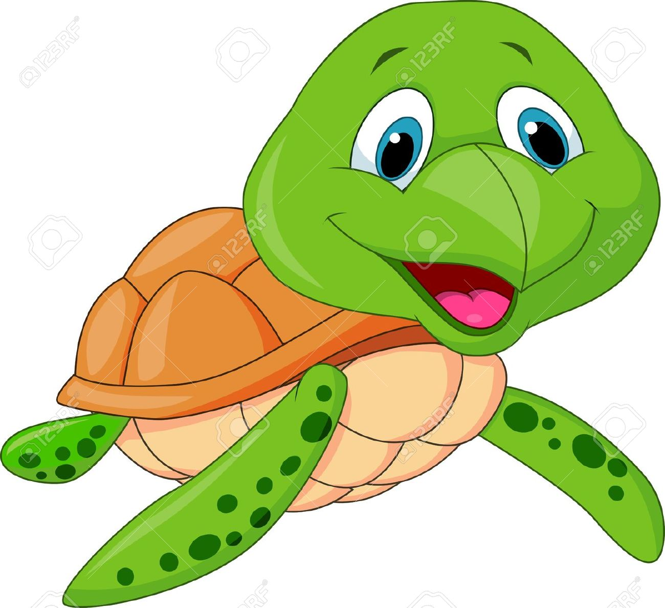 1300x1188 Turtle Cartoon Clip Art Cute Sea Turtle Cartoon Stock Clipart Sea