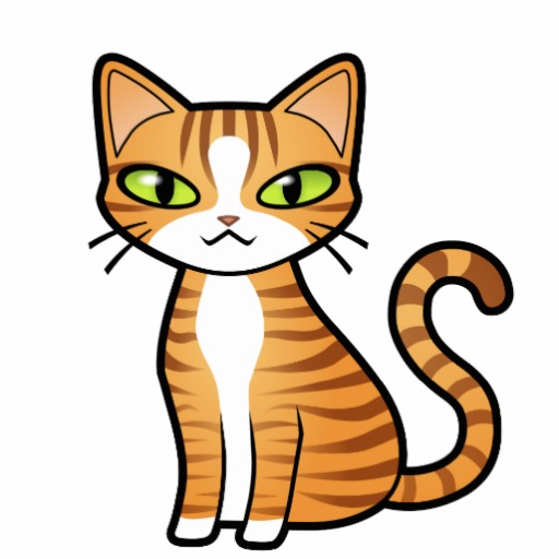 512x512 The Free Cute Cat Clipart Download