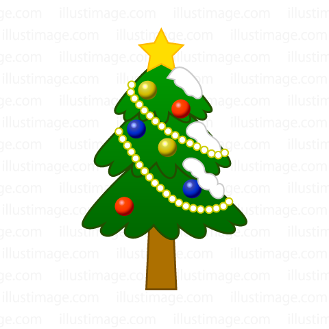480x480 Free Cute Christmas Tree Clip Art Cartoon Amp Clipart