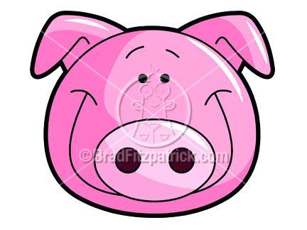 432x324 Cute Pig Clip Art Clip Art Cute Pig Peeking Through The Fence