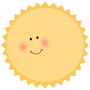 300x300 Cute Sun Clipart