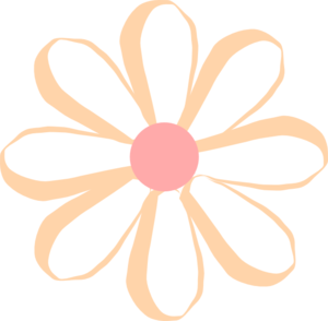 300x294 Flower Cute Clip Art