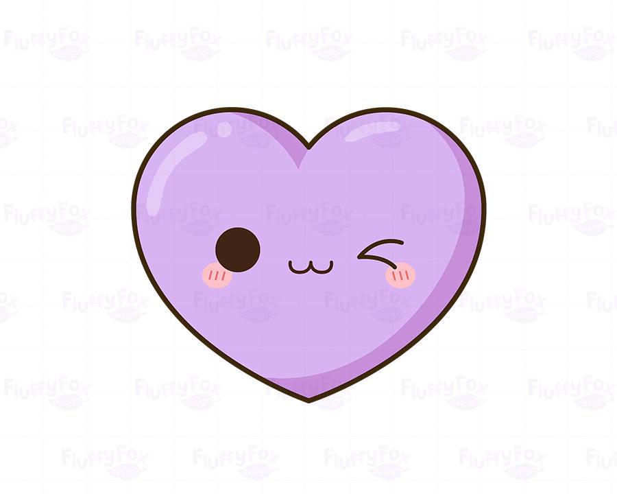 900x720 Kawaii Heart Clipart, Cute Hearts Clip Art Valentine Love Funny