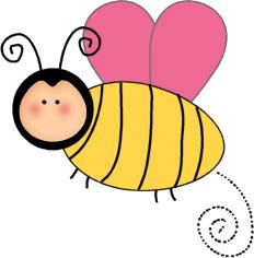 232x236 Cute Bee Clip Art