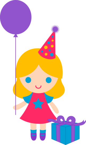 325x550 Cute Birthday Girl Clip Art Monica 2 Girls Clips