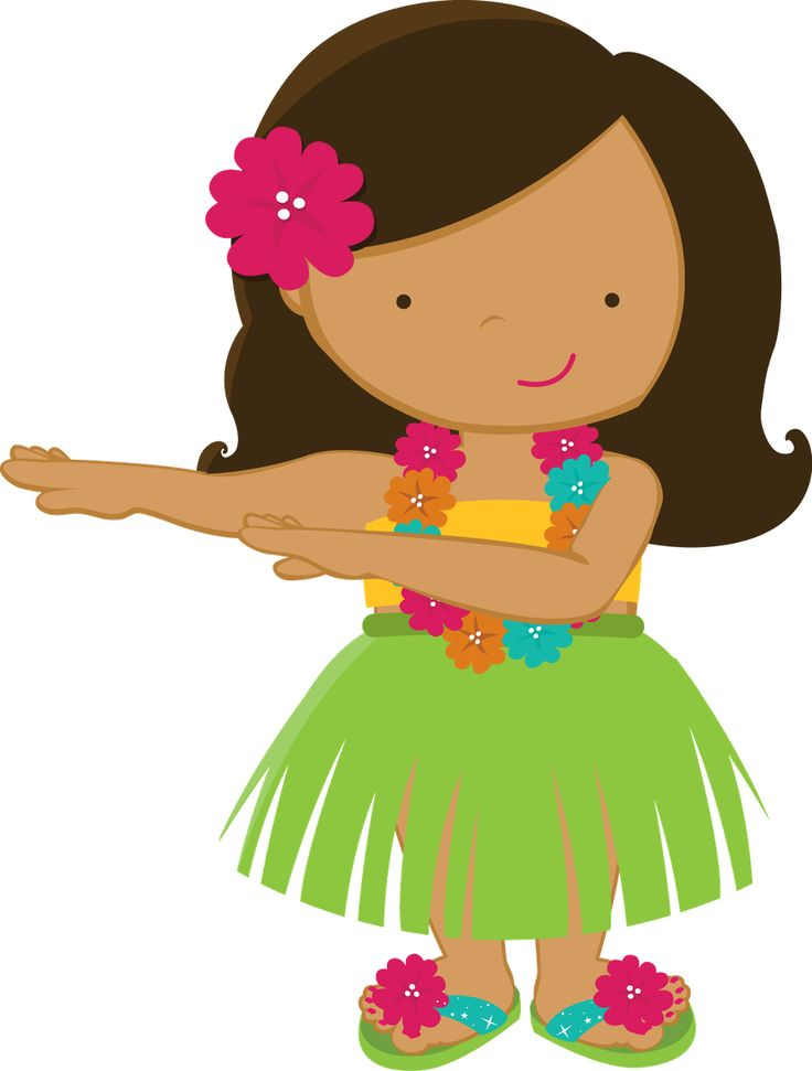 736x971 Hawaiian Luau Clip Art To Download