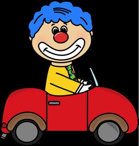 449x472 Circus Clown Car Clip Art