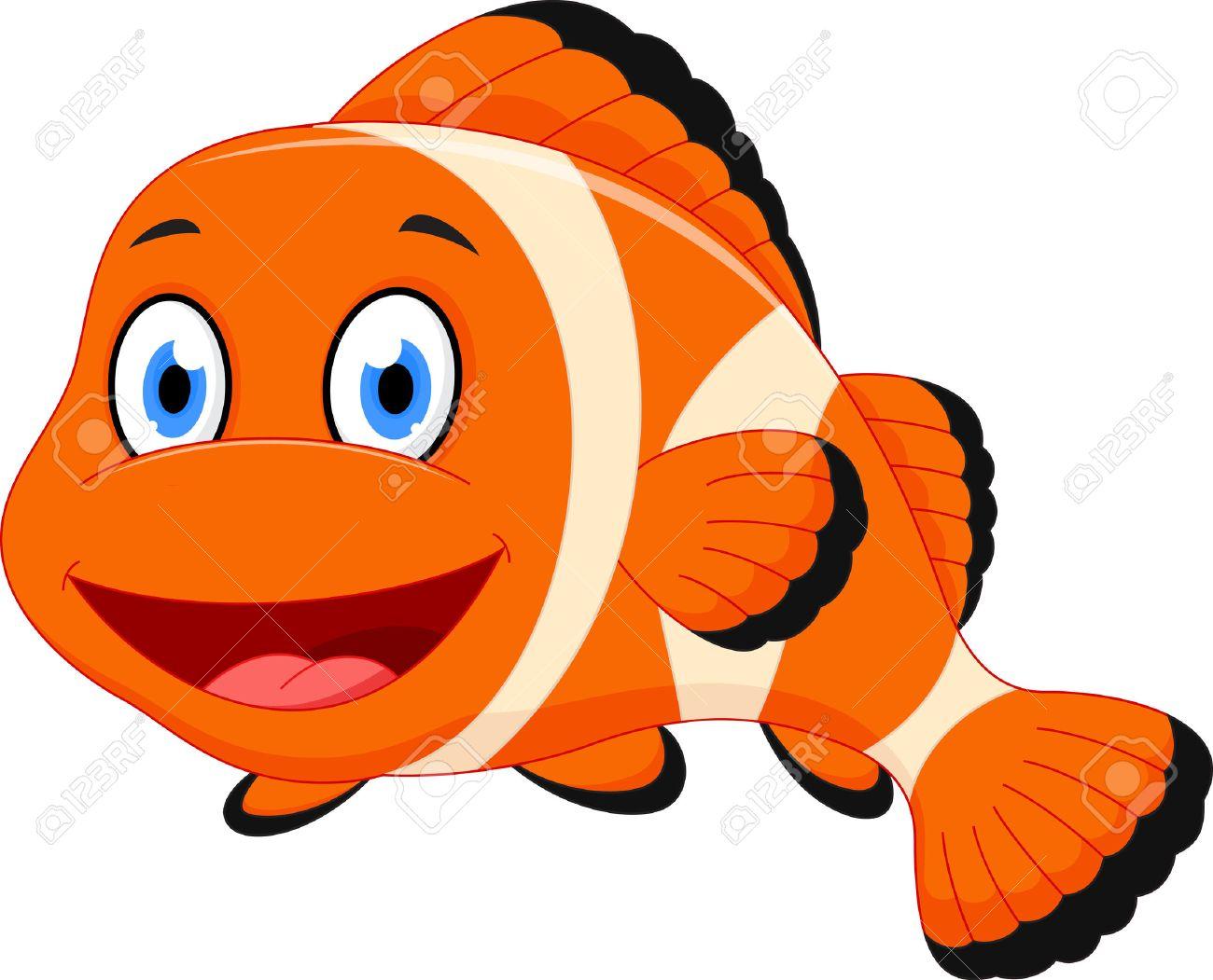 1300x1051 Clipart Clown Fish Cartoon Top 75 Clownfish Clip Art Free Image