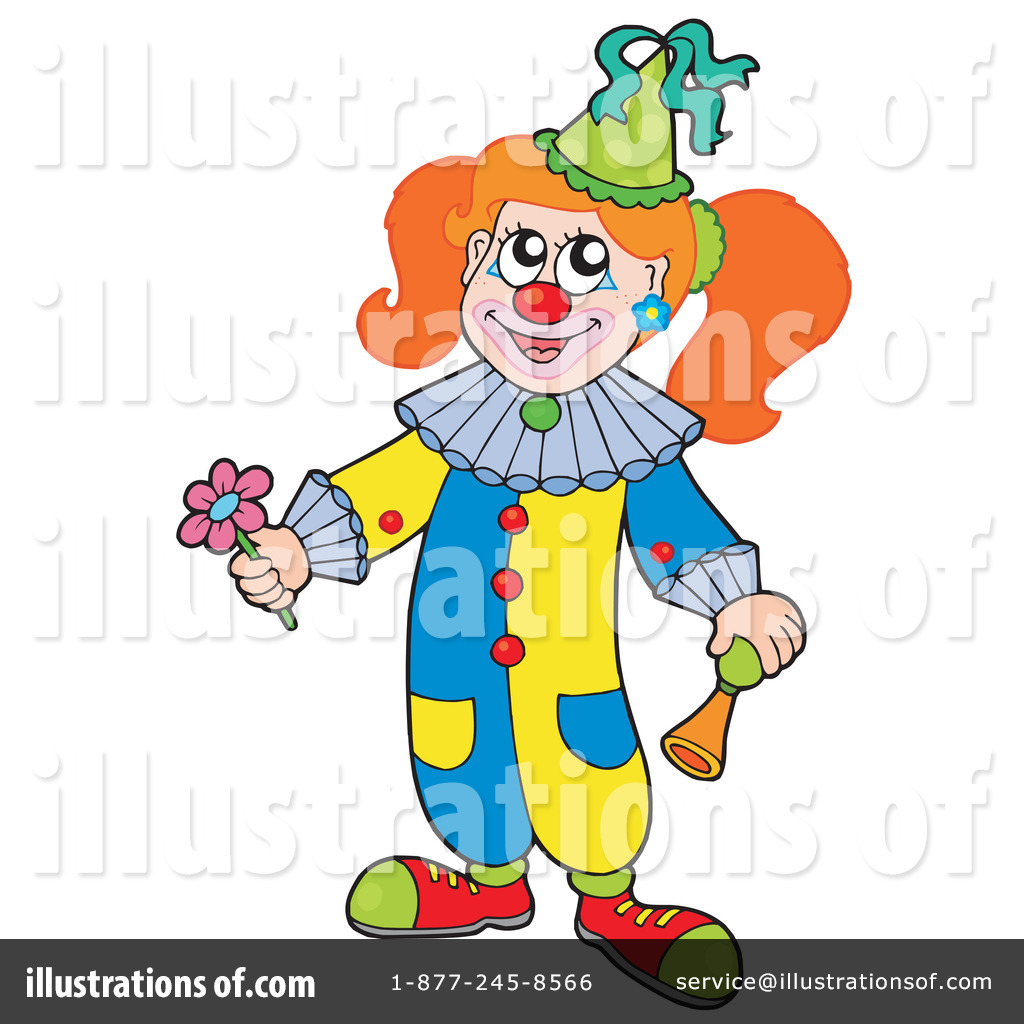 1024x1024 Clown Clipart