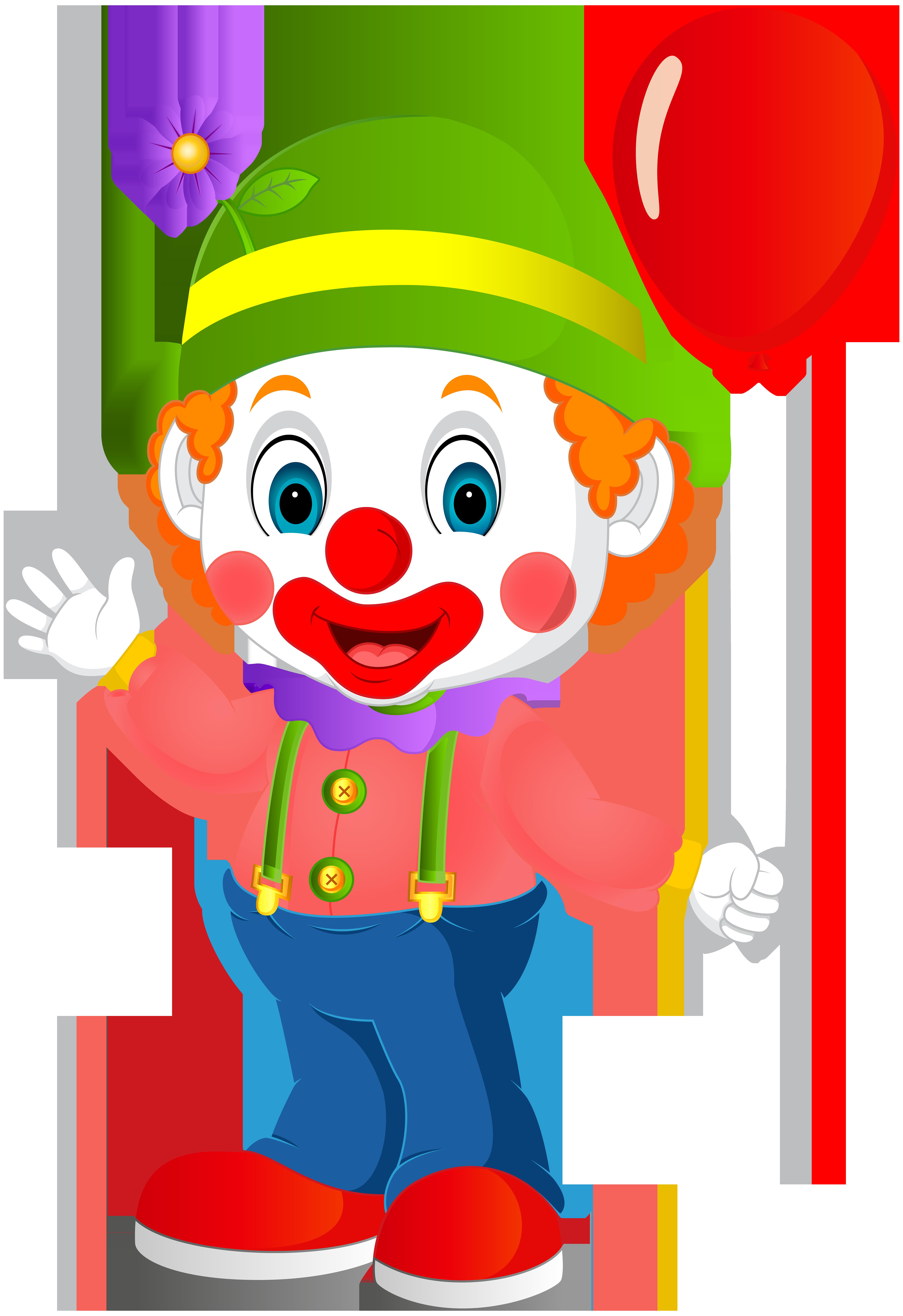 5489x8000 Cute Clown Transparent Png Clip Art Imageu200b Gallery Yopriceville