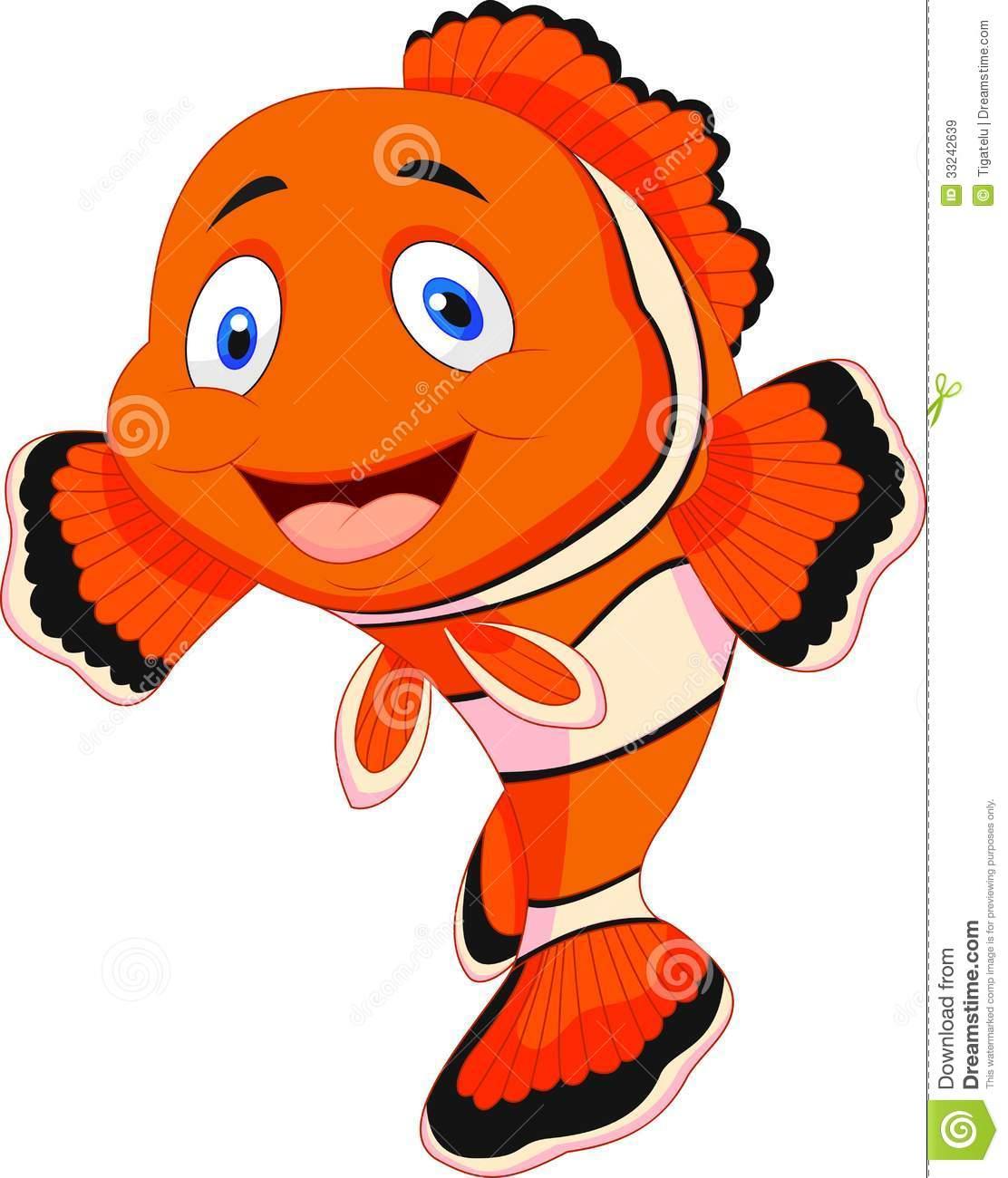 1112x1300 Cute Clown Fish Cartoon Clipart Panda