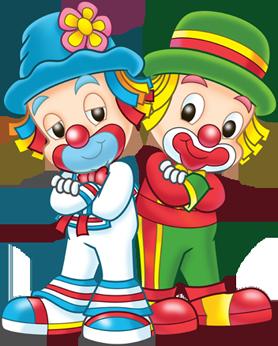 278x346 Clowns.quenalbertini Cute Little Clowns Clipart
